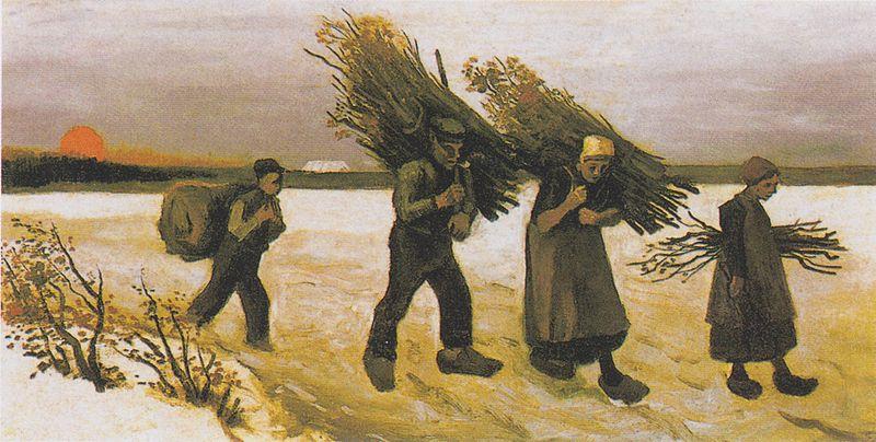 File:Van Gogh - Holzsammler im Schnee.jpeg