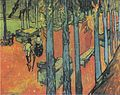 Van Gogh - Les Alyscamps, fallende Blätter.jpeg