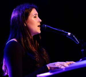 Vanessa Carlton - Carlton performing live at The Roxy Theatre in West Hollywood (Los Angeles) California on Thursday January 21, 2016
