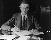 Vannevar Bush, a famous information scientist, ca. 1940-44