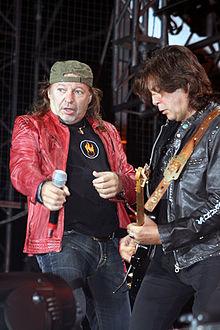 Vasco Rossi e Maurizio Solieri nel 2007