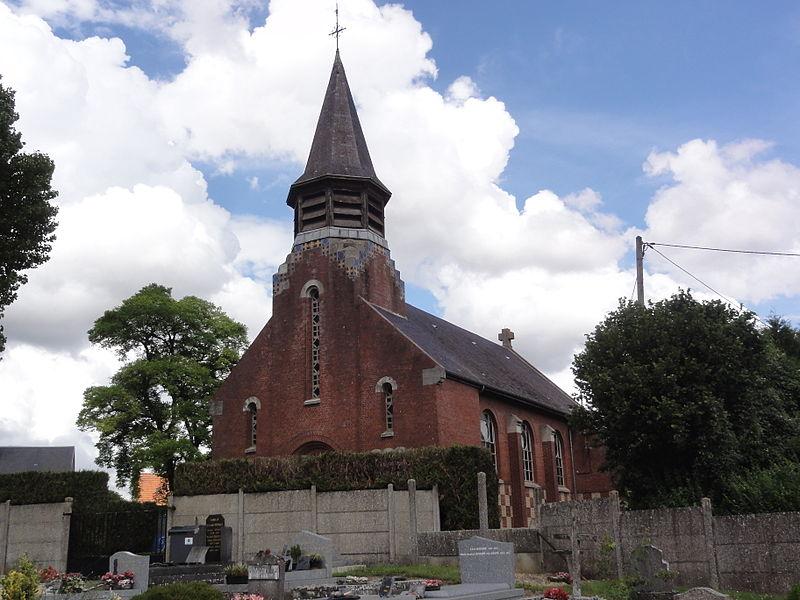 Vaux-en-Vermandois (Aisne) église Notre-Dame