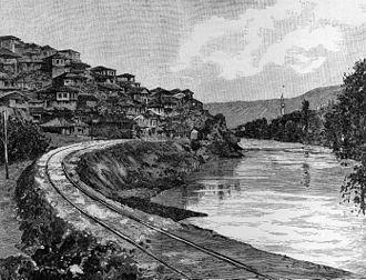 Veles, North Macedonia - Veles in the 19th century.