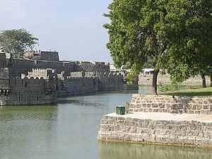 Reddy -  Vellore fort built by Bommi Reddi in the 16th Century