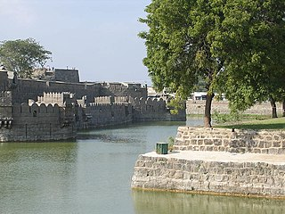 Vellore Fort Tourist attraction in india , fort in Vellore, India.