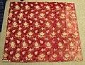 Velvet textile fragment, Italy, 1600-1625, silk - Patricia Harris Gallery of Textiles & Costume, Royal Ontario Museum - DSC09368.JPG