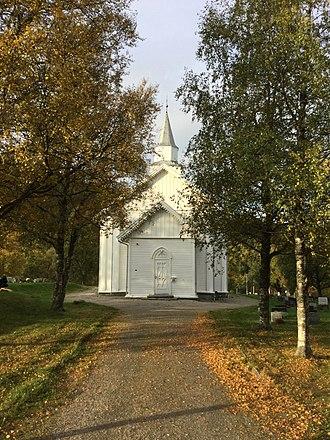 Vemundvik Church - Image: Vemundvik kirke 1
