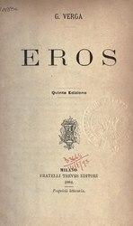 Giovanni Verga: Eros