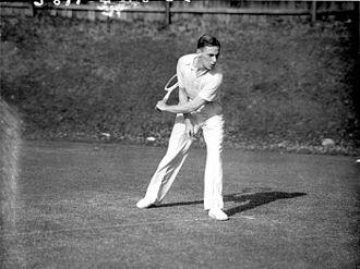 Vernon Kirby - Vernon Kirby at the White City Stadium in Sydney, Australia in November 1934