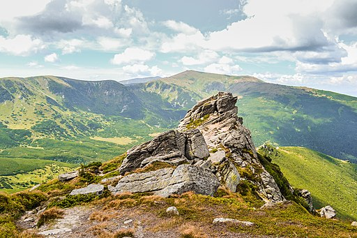 Veronika Leonets г. Вухатий Камінь (1 864 м) 12