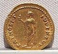Vespasiano, aureo per domiziano cesare, 72-79 ca. 02.JPG