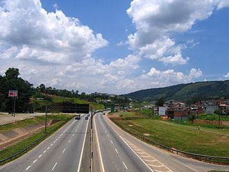 Anhanguera (district of São Paulo) - Image: Via Anhanguera