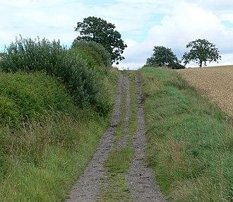 Via Devana - Via Devana in Leicestershire, July 2007