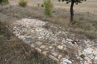 Tsarigrad Road - Since the time of the Romans, the road was surfaced with tiles, filled in with gravel or small stones, or in places just mud.