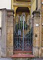 Via repetti, casa di carlo emilio gadda, 02 cancello.JPG