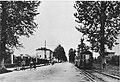 Viale Lombardia all' altezza del Collegio della Guastalla a San Fruttuoso nel 1940.jpg
