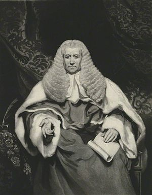Vicary Gibbs - Sir Vicary Gibbs as Chief Justice of the Common Pleas