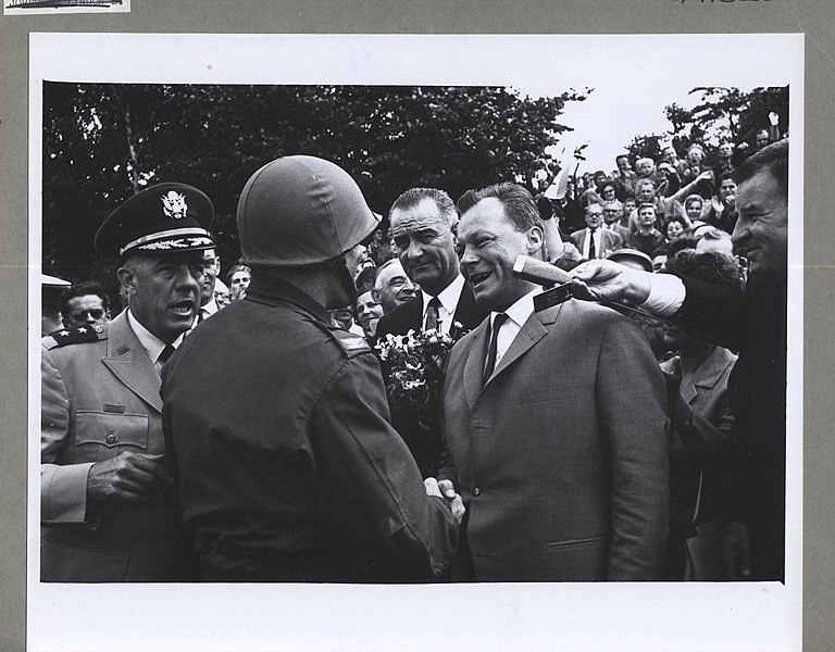 File:Vice President Johnson, West Berlin Mayor Brandt and Col. Glover S. Johns Jr. - Flickr - The Central Intelligence Agency.jpg