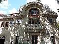 Vichy - Centre thermal des Dômes, grande fenêtre avenue Eisenhower.jpg