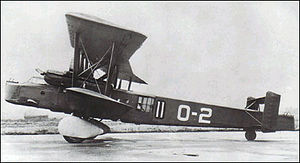 United Kingdom aircraft test serials - Vickers Type 163 marked as O-2