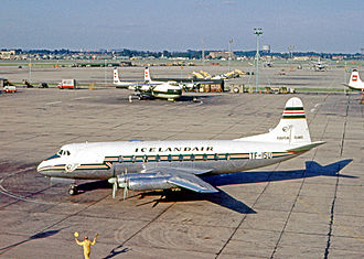 Icelandair - Icelandair Vickers Viscount at London Heathrow Airport in 1962