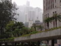 Victoria Peak, Hong Kong, from Statue Square.JPG