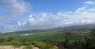 Neve Michael - Neve Michael as viewed from the Elah Valley