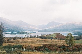 Inishail - View of Inishail and other Loch Awe islands.
