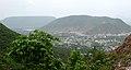 View of Simhachalam Town between Eastern Ghats.JPG