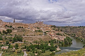 Convento de Santa Clara la Real, Toledo - General view of the city of Toledo.