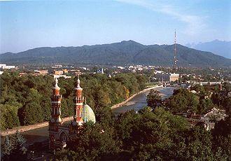 Vladikavkaz - Image: View of Vladikavkaz