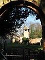 View through churchyard gate - geograph.org.uk - 685934.jpg