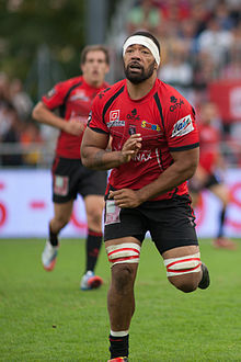 Description de l'image  Viliami Ma'afu - US Oyonnax - Rugby club toulonnais, 28th September 2013.jpg.