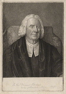 Vincent Perronet English priest