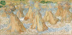 Vincent van Gogh: Sheaves of Wheat