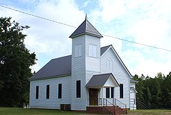 Vineland Baptist Church in 2009