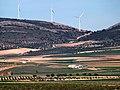 Vista de la Sierra del Romeral en Villacañas (Toledo).JPG