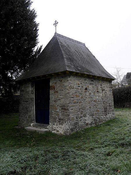 Chapelle Notre-Dame-de-Galiot, faubourg du Rachapt, Vitré (35).