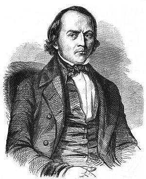 Alexandre-François Vivien - Portrait from Journées illustrées de la Révolution de 1848