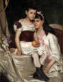 Vlaho Bukovac - Dvije sestre Marić, 1879.png