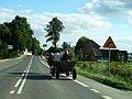 Voivodeship road 886 (Poland) Stara Wies 01.JPG