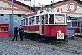 Vozovna Střešovice, poštovní tramvaj.jpg