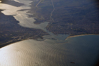 Bizerte - Aerial view of Bizerte (October 2008)