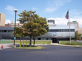 WKBW-TV - WKBW-TV's studio and office facility in downtown Buffalo.