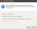 WPCleaner - Installation Ubuntu Desktop 12.04 OpenJDK6 - Desktop Launcher (en).png
