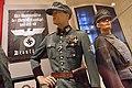 WW2 Norway. Der Kommandeur der Sicherheitspolizei und der SS Drontheim; Hauptmann der Sicherheitspolizei (Ordnungspolizei); Norw. Statspolitiet police major 1942; etc Justismuseet Trondheim 2019 7112.jpg