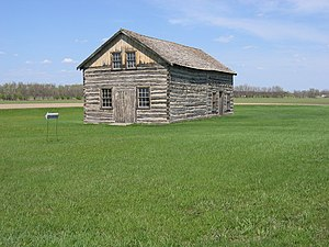 National Register of Historic Places listings in Pembina County, North Dakota - Image: Walhalla Trading Post