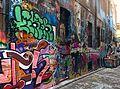 Wall of Hosier Lane Melbourne Australia.jpg