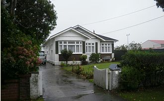 Walter Nash - Nash's house of 38 years in Lower Hutt