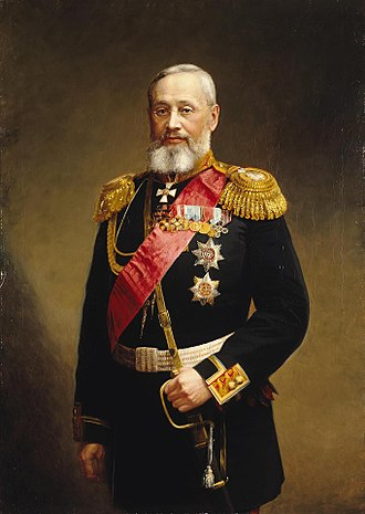 Pyotr Vannovsky - Minister of War Pyotr Vannovsky, c. 1880